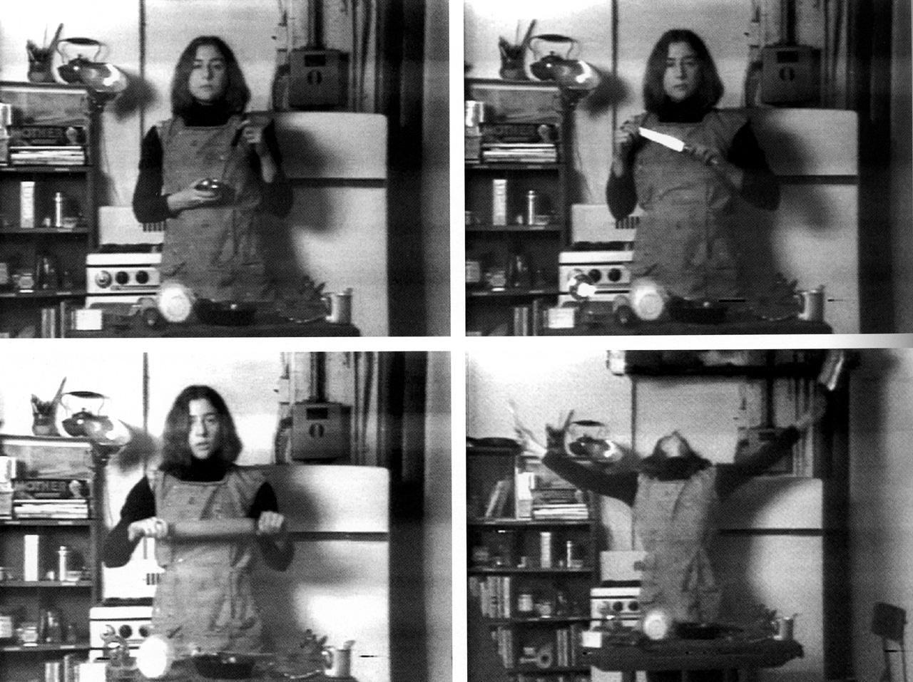 martha rosler (brooklyn, 1942): semiotics of the kitchen (video