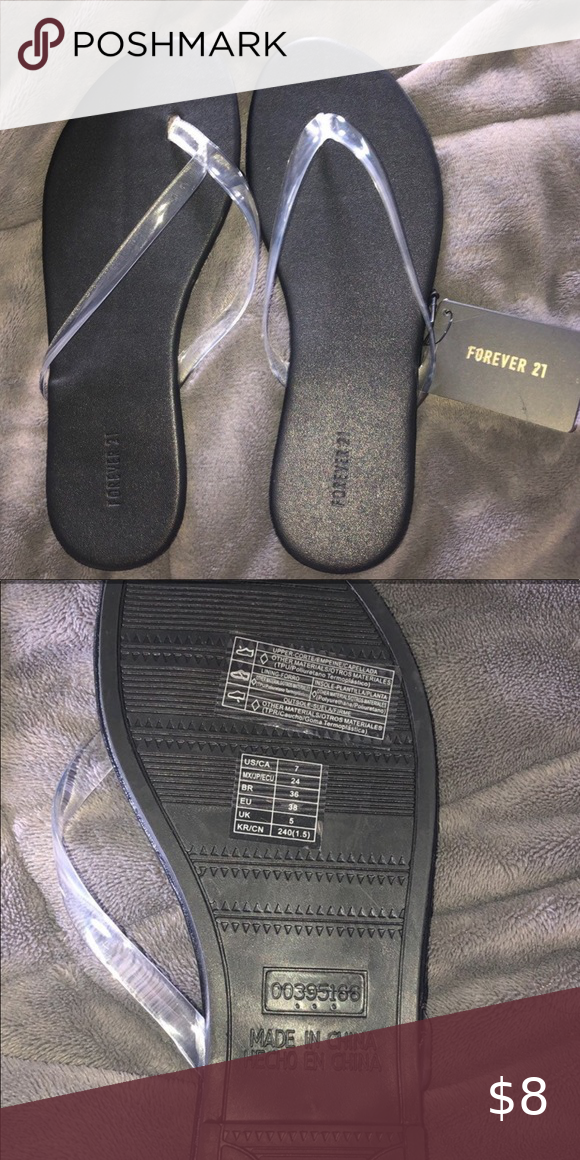Forever 21 Flip Flop Sandals Size 7 I got the wrong size! No problems with them …