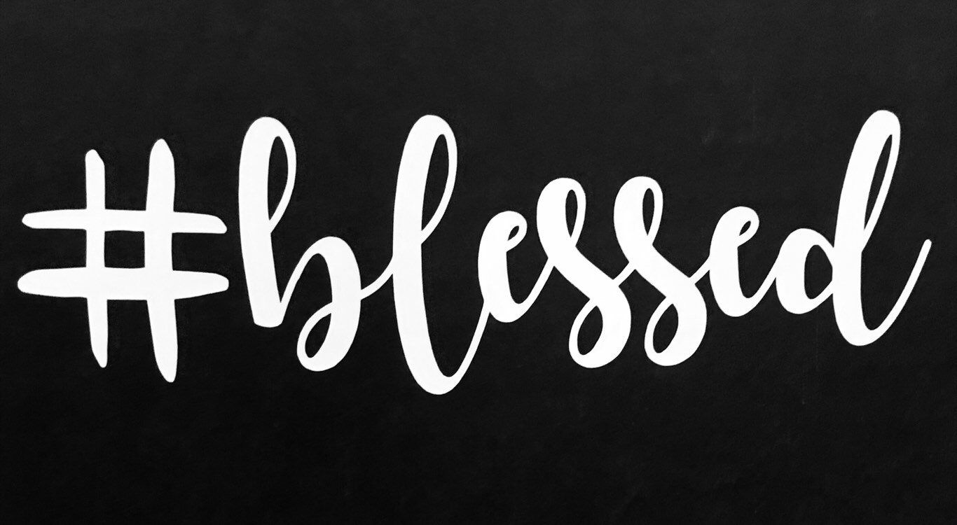 Blessed Decal car decal truck decal laptop decal tumblr | Etsy