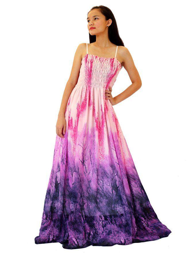 MayriDress Women Abstract Print Casual Dress Maxi Plus Size Sundress ...