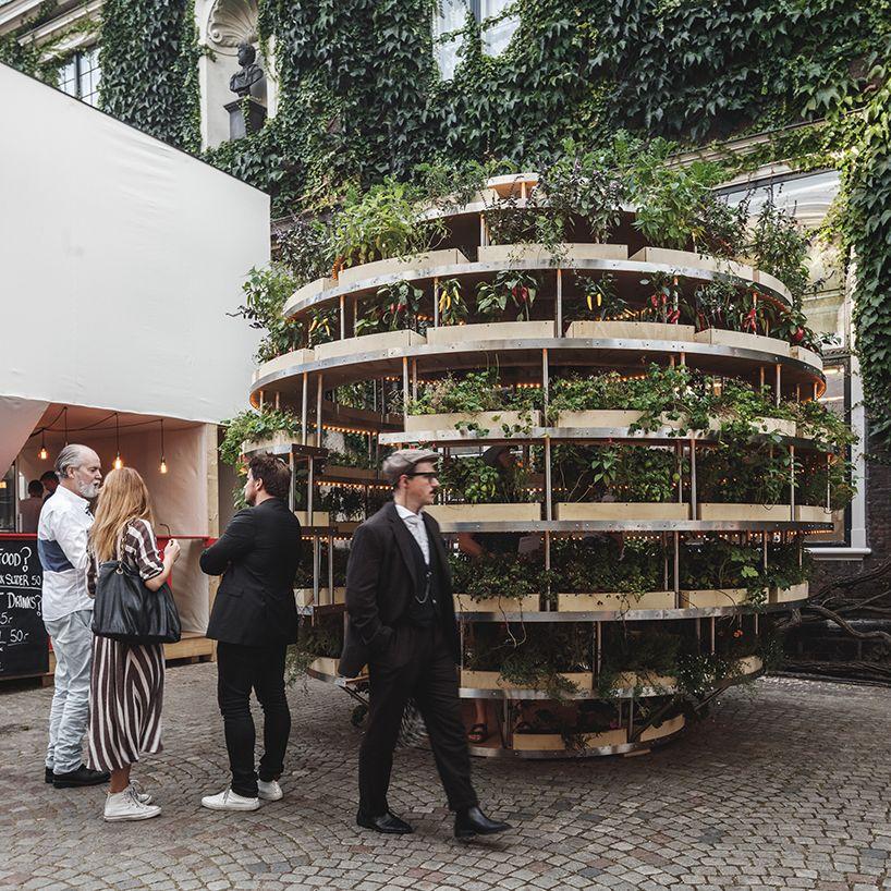 Space10 Plants Inhabitable Growroom In Copenhagen Urban Farming Farm Gardens Indoor Vegetable Gardening