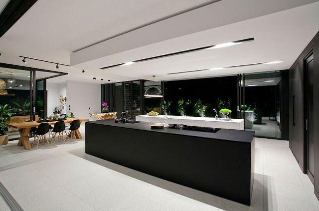 Casas Minimalistas y Modernas cocinas modernas