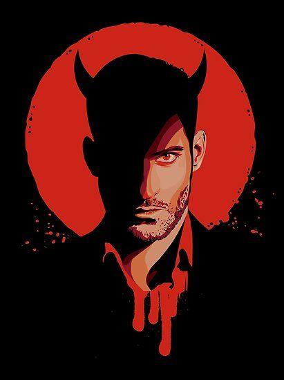 Póster ''Lucifer' de reymustdie
