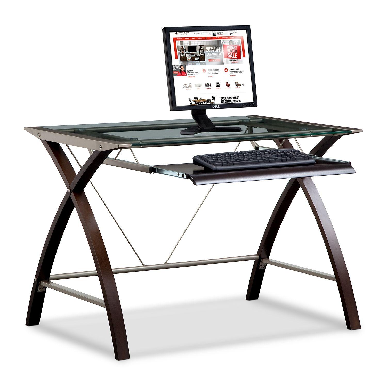 Orion Computer Desk With Keyboard Tray Desk With Keyboard Tray Best Home Office Desk Glass Computer Desks