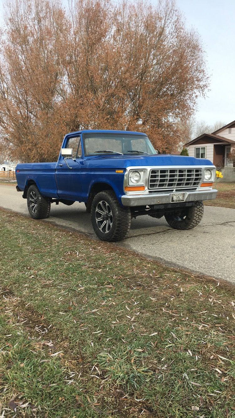 1977 Ford F 250 1978 Ford Front End 5 9 12 Valve Cummins Conversion Cummins F250 Ford