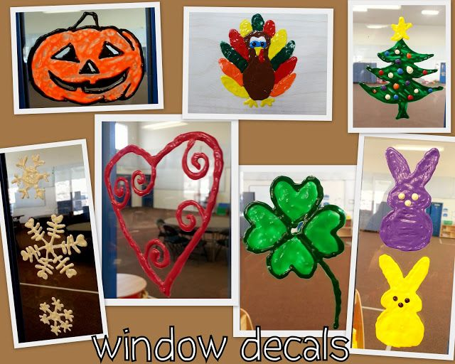 Make Your Own Window Decal Peel Stick Creations Using Fabric Paint - Make your own window decal