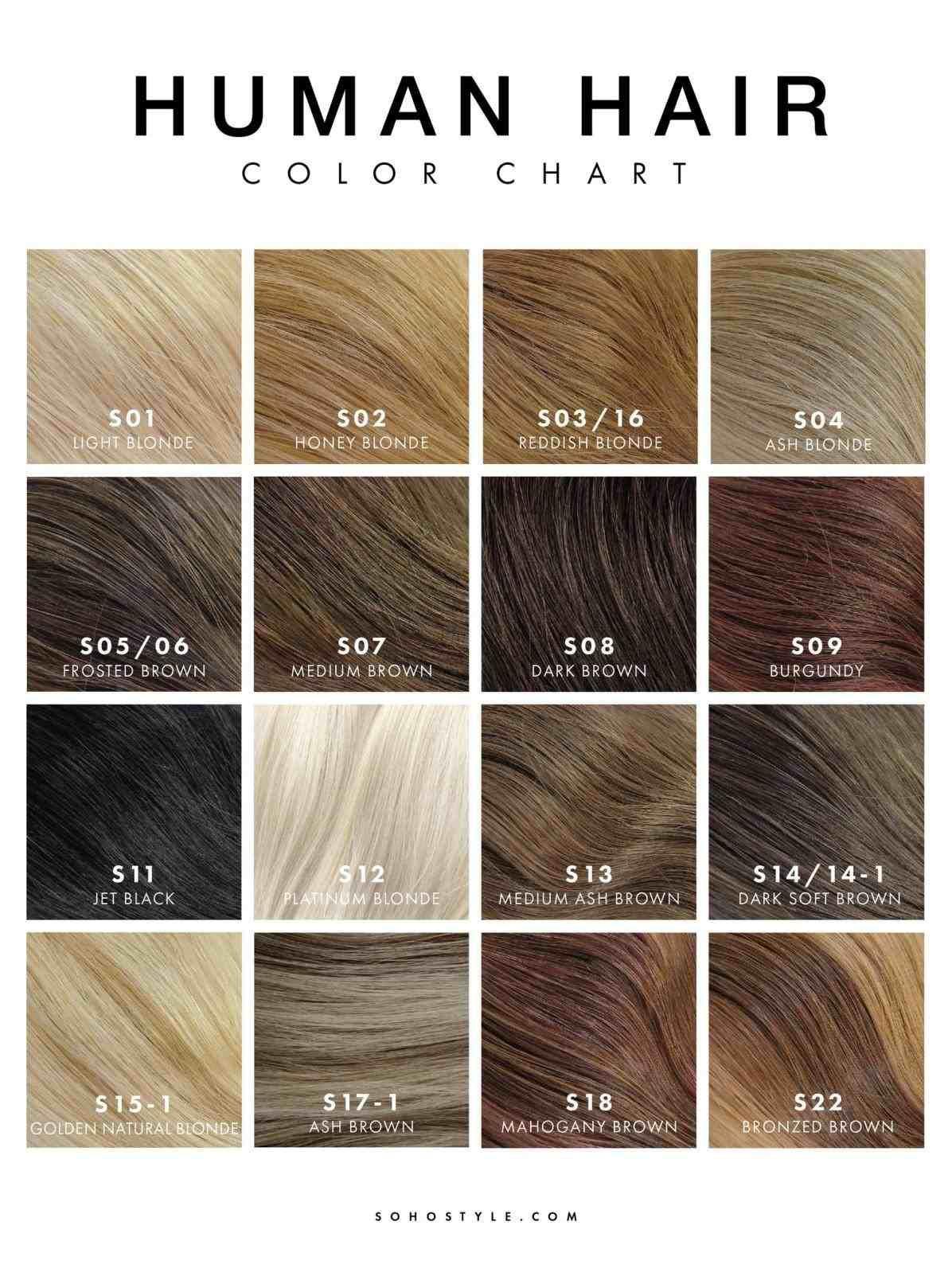 New post epsa hair color chart trending now balayagehair also pin oleh jooana di ideas pinterest ash brown rh