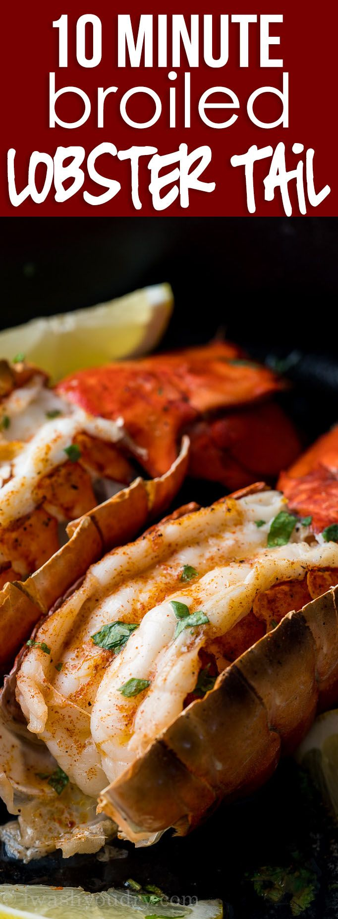 Easy Broiled Lobster Tail Recipe   Recipe   Lobster ...