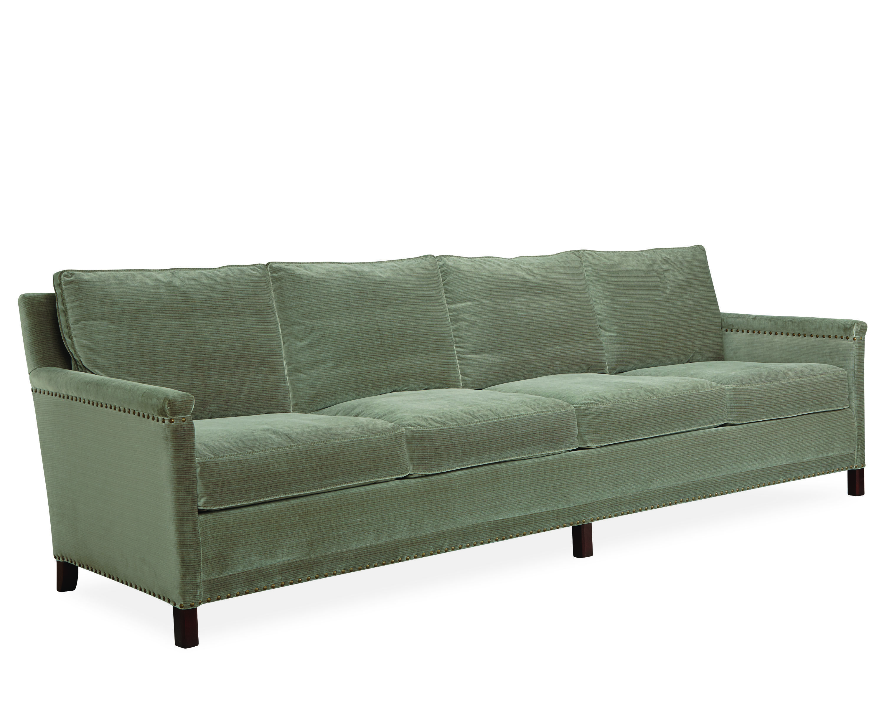 Lee Industries Four Cushion Sofa In Marshall Marlin