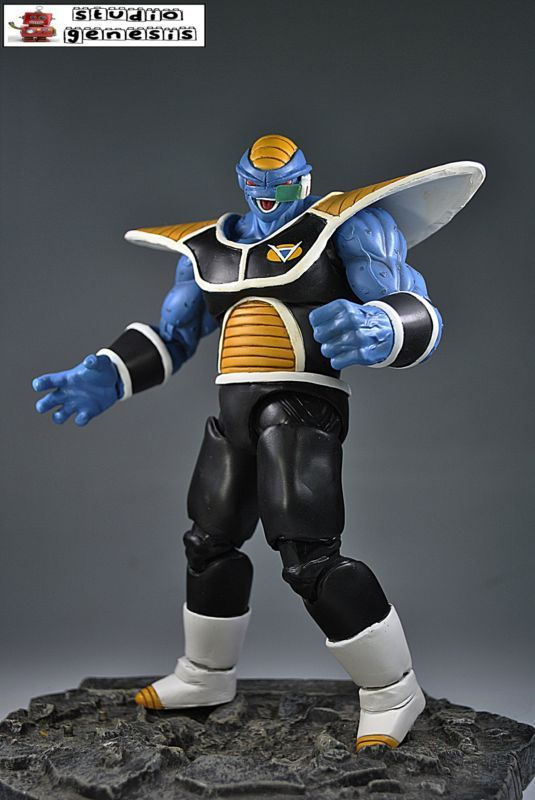 Burter (Dragonball Z) Custom Action Figure #SonGokuKakarot