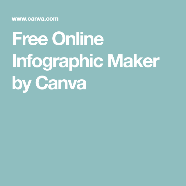 Free Online Infographic Maker by Canva | Ed Tech
