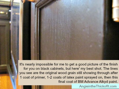 How I Painted My Kitchen Cabinets: Chalk Paint, Latex, And Benjamin Moore  Advance