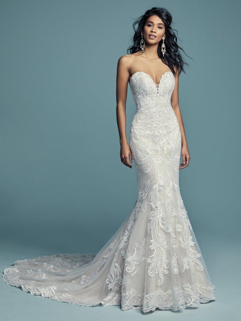 Blue camo wedding dresses  Style