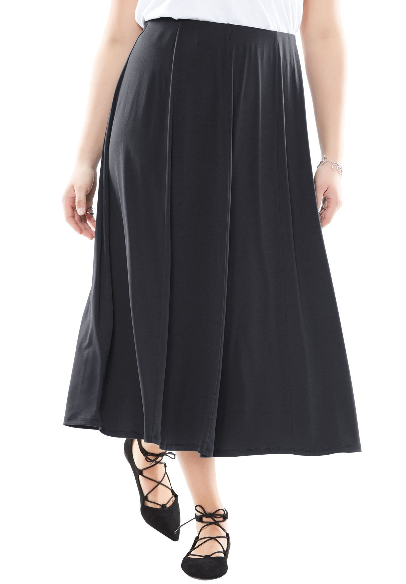 31eaee6b5 A-line skirt - Women's Plus Size Clothing | Products | A line skirts ...