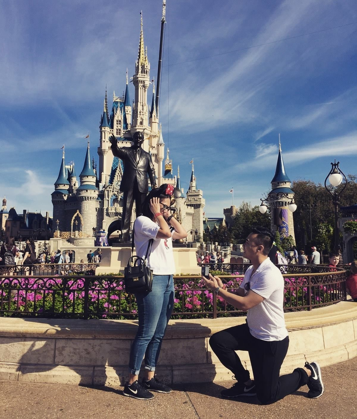 Our Disney Proposal Story …