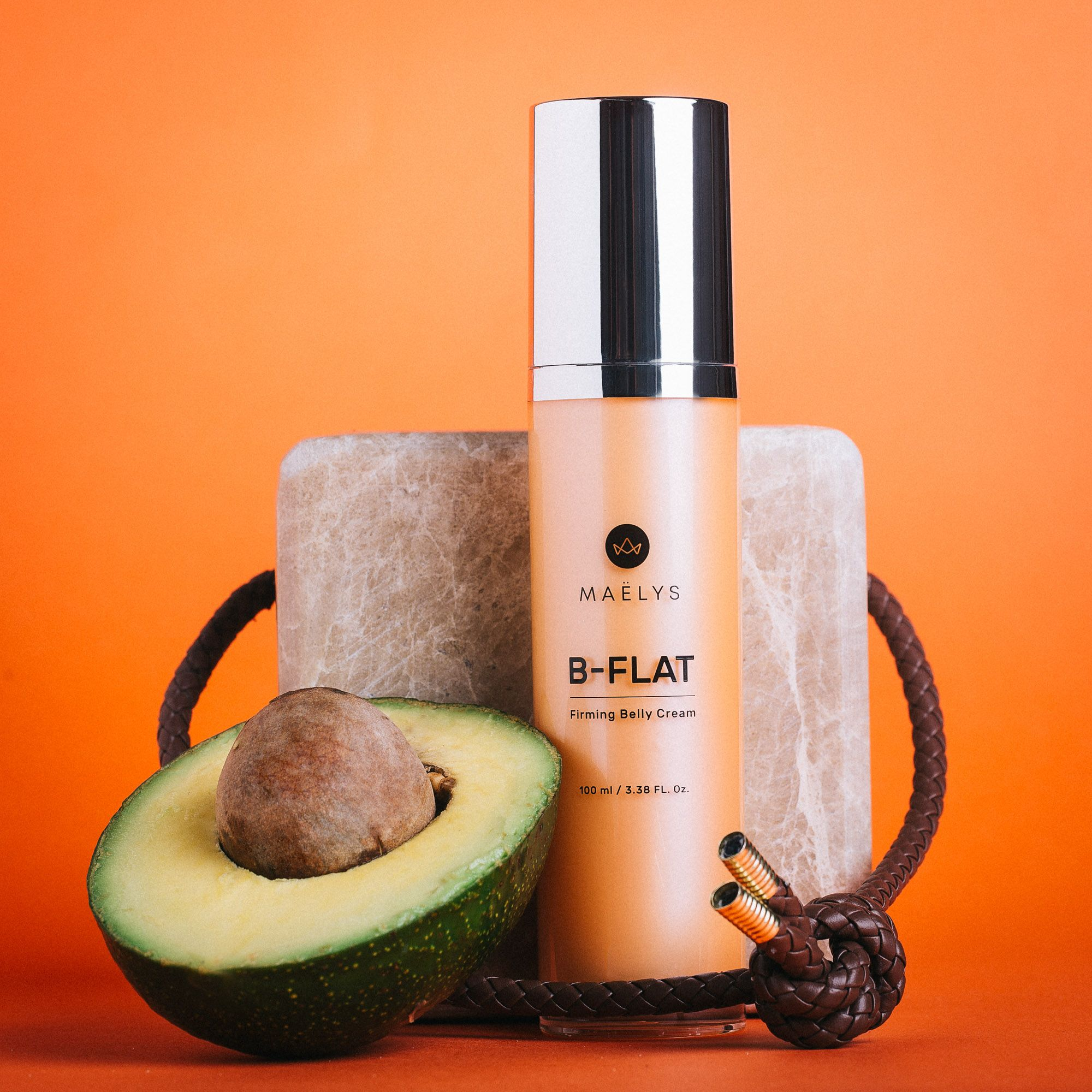 B Flat Is A Belly Cream That Helps Reduce The Appearance Of