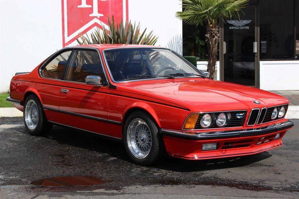 1983 Bmw 635csi Bmwclassiccars Bmw 635 Bmw Classic Bmw