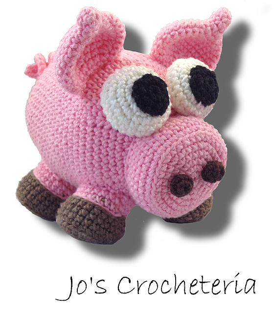 Super Easy and Fun Free Crochet Pattern. Sven the Amigurumi Pig ...