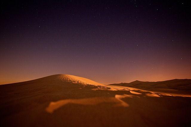 Free Image On Pixabay Sahara Nightsky Stars Night Desert Pictures Desert Landscape Photography The Dunes