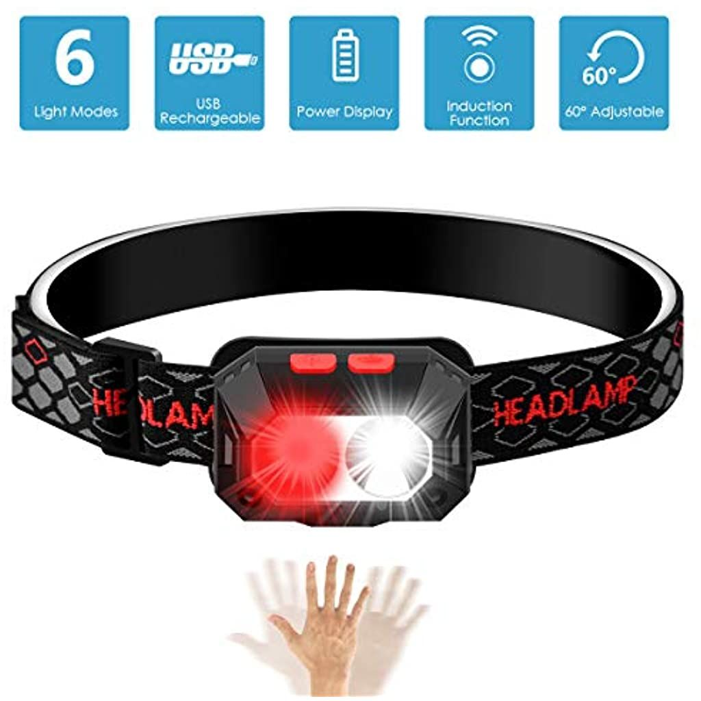 Lampe Frontal Usb Rechargeable Chenci 6 Modes Lampe Frontale Torche Led Usb 1000lumin Ipx4 Etanche Durable 6 8 Heures Pour Peche Camping Lectur In 2020 Accessories Belt