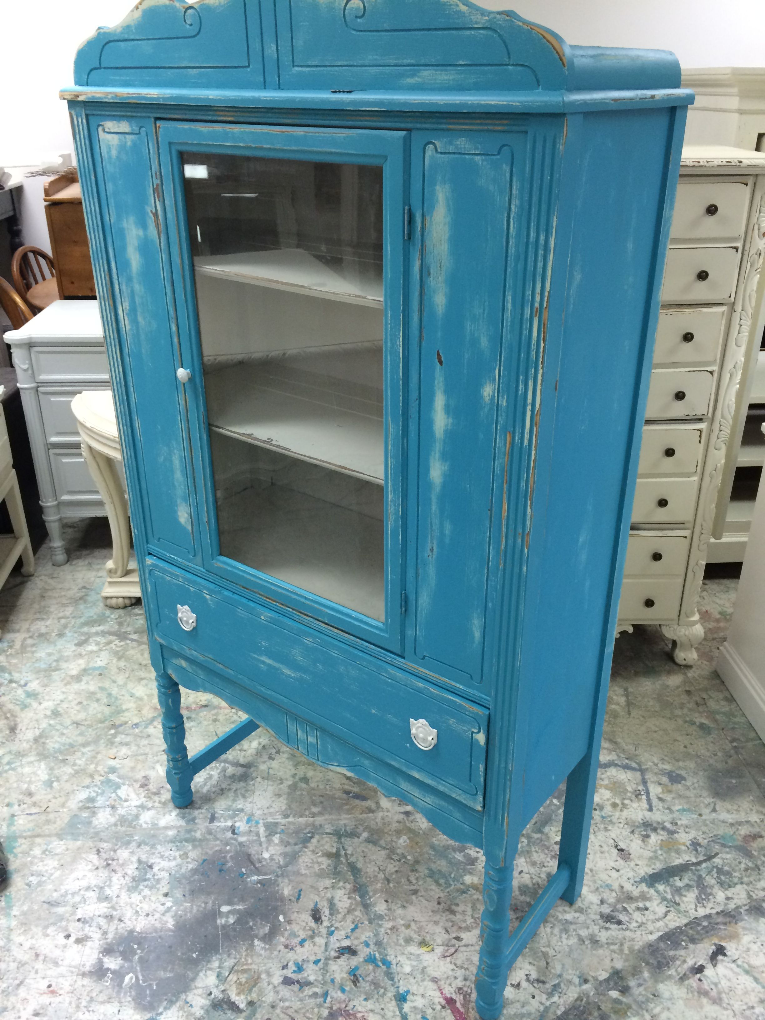 I can see this cabinet as very versatile. You could use it ...