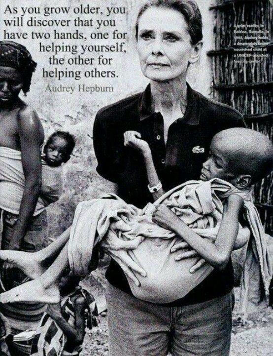 Eine bewundenswerte Frau!