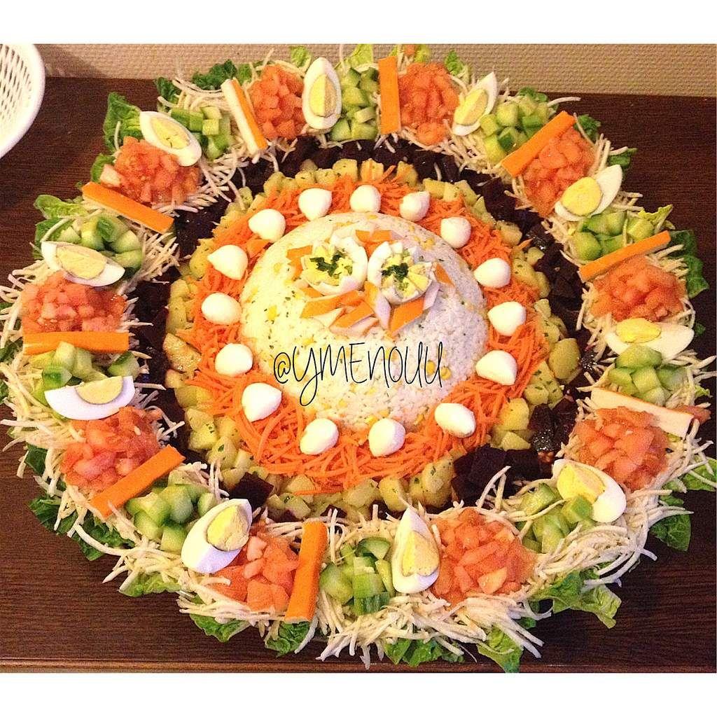R sultat de recherche d 39 images pour crudit s pr sentation for Salade en entree originale