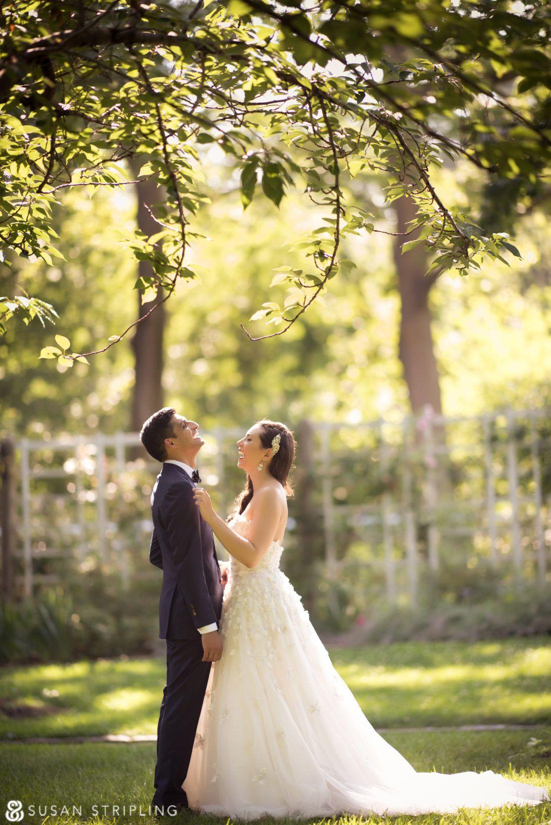 Summer Wedding at the Brooklyn Botanic Garden Brooklyn