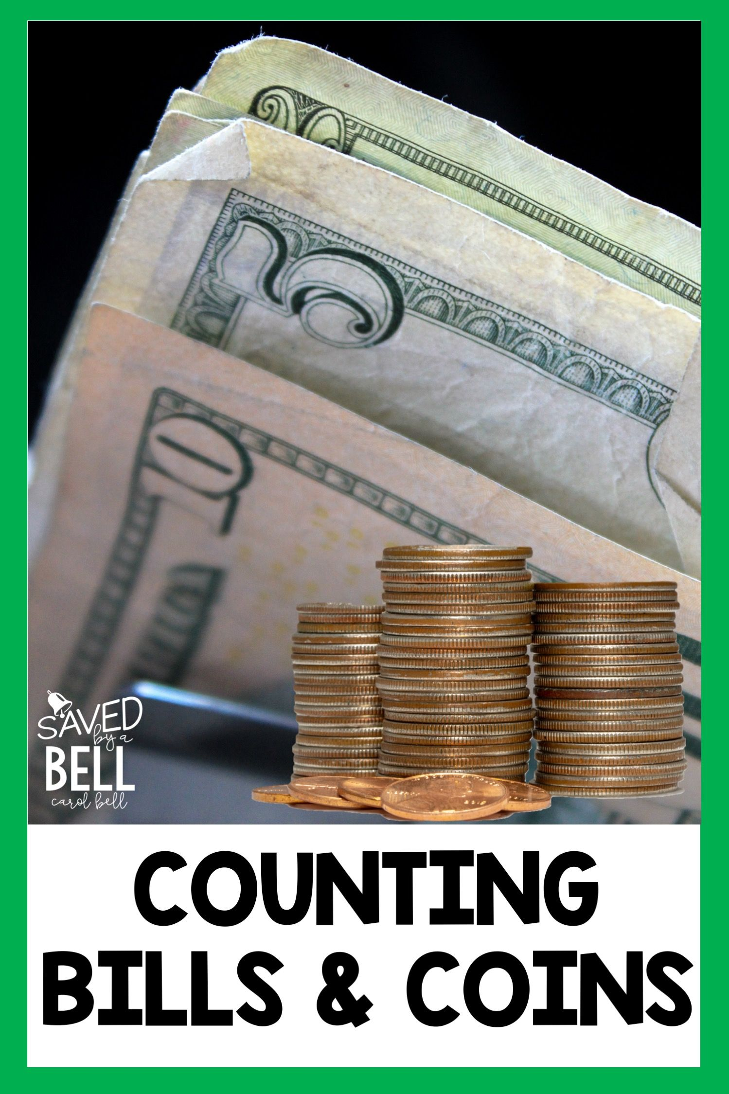 Counting Money Task Cards Bills And Coins
