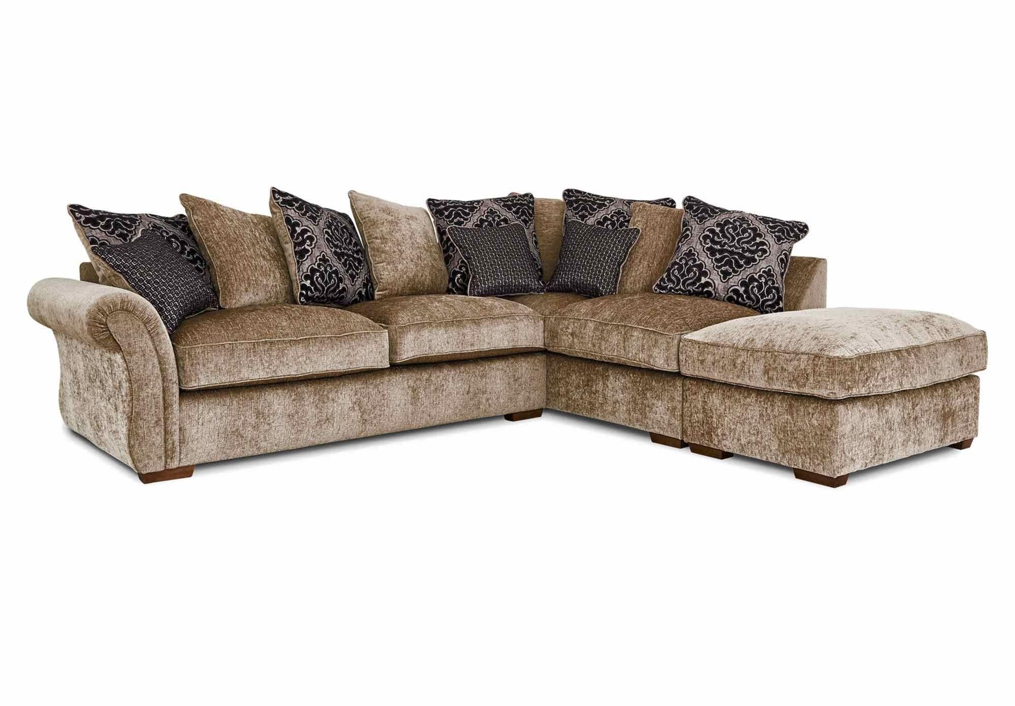Luxor RHF Scatter Back Corner Sofa At Furniture Village