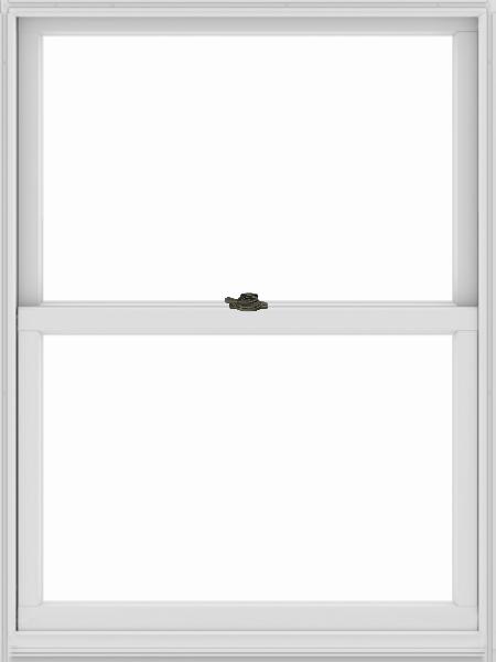 Andersen 400 Series Woodwright Double Hung Window White Interior With Stone Easy Tilt Lock Door Design Tool Design Steps Design