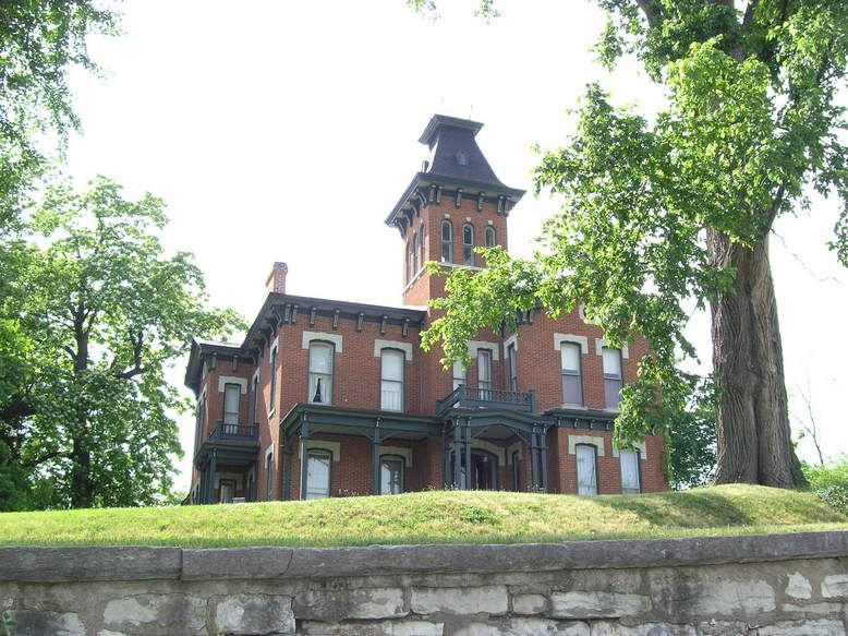 Alton Il Watson House On Italianate Style Alton Alton Illinois Great River