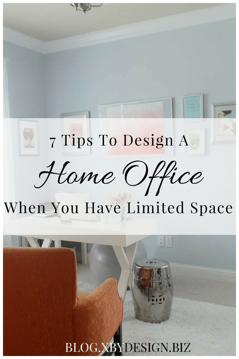 7 decorating tips to get the home office you need with the space you rh pinterest com