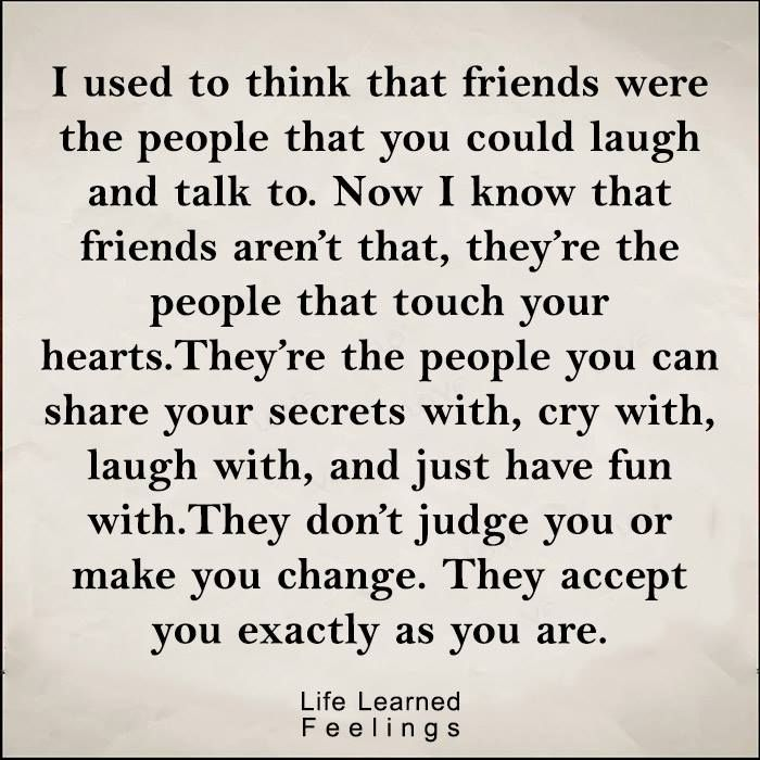 Older & wiser, I have found my lifelong friends and I am ...