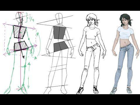 ▷ ¿Cómo estudiar anatomía para mejorar en dibujo? referencias ...