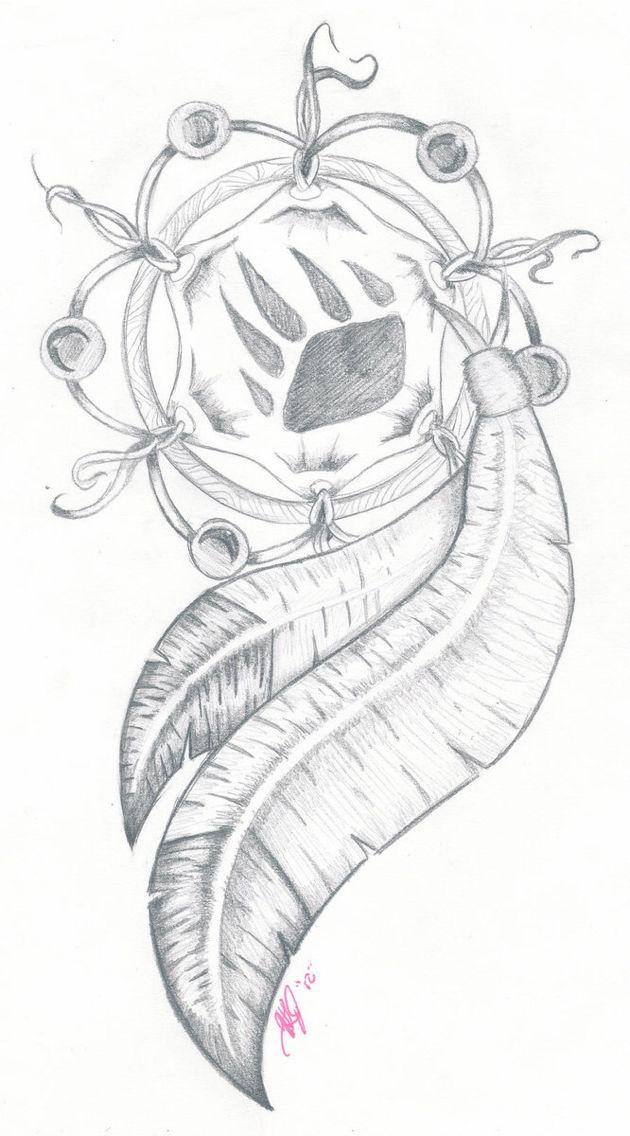 dream chatcher crafts pinterest tatouage tatouage ours et dessin. Black Bedroom Furniture Sets. Home Design Ideas