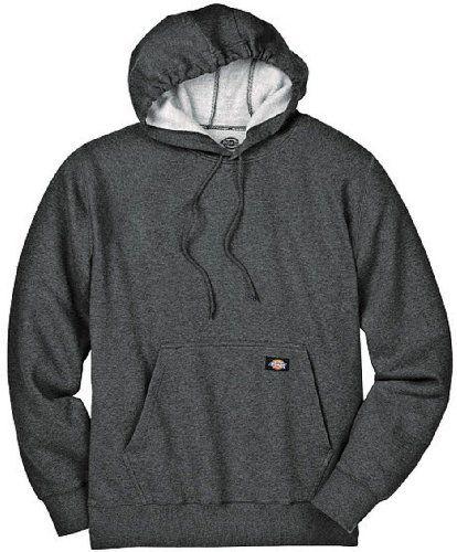 Dickies Mens Big-Tall Midweight Fleece Pullover Sweatshirt