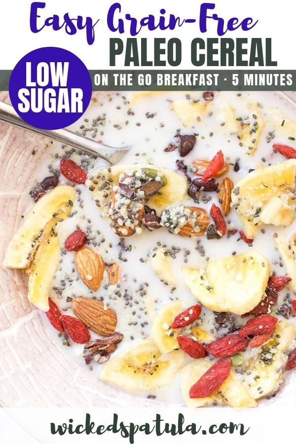 5 Minute Easy Grain Free Paleo Cereal Recipe This Easy
