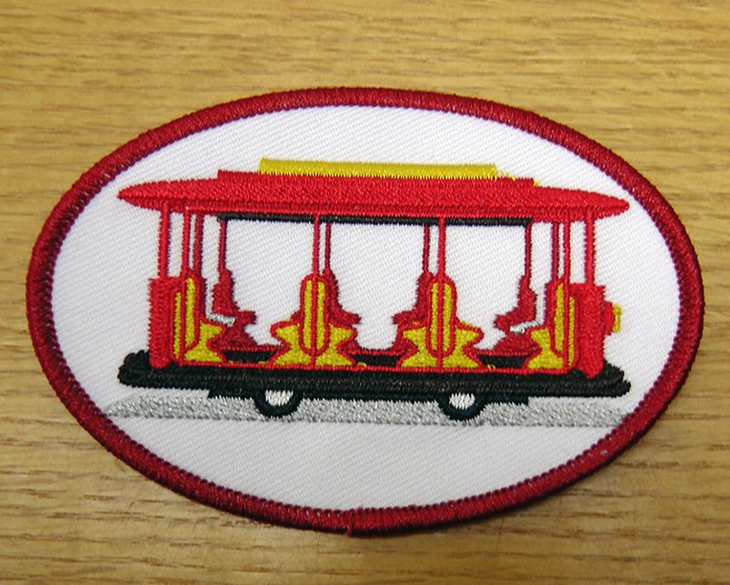 Daniel Tiger's Neighborhood Trolley Patch   The Fred Rogers