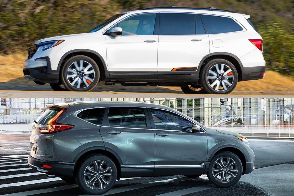 2020 Honda Pilot vs. 2020 Honda CRV What's the
