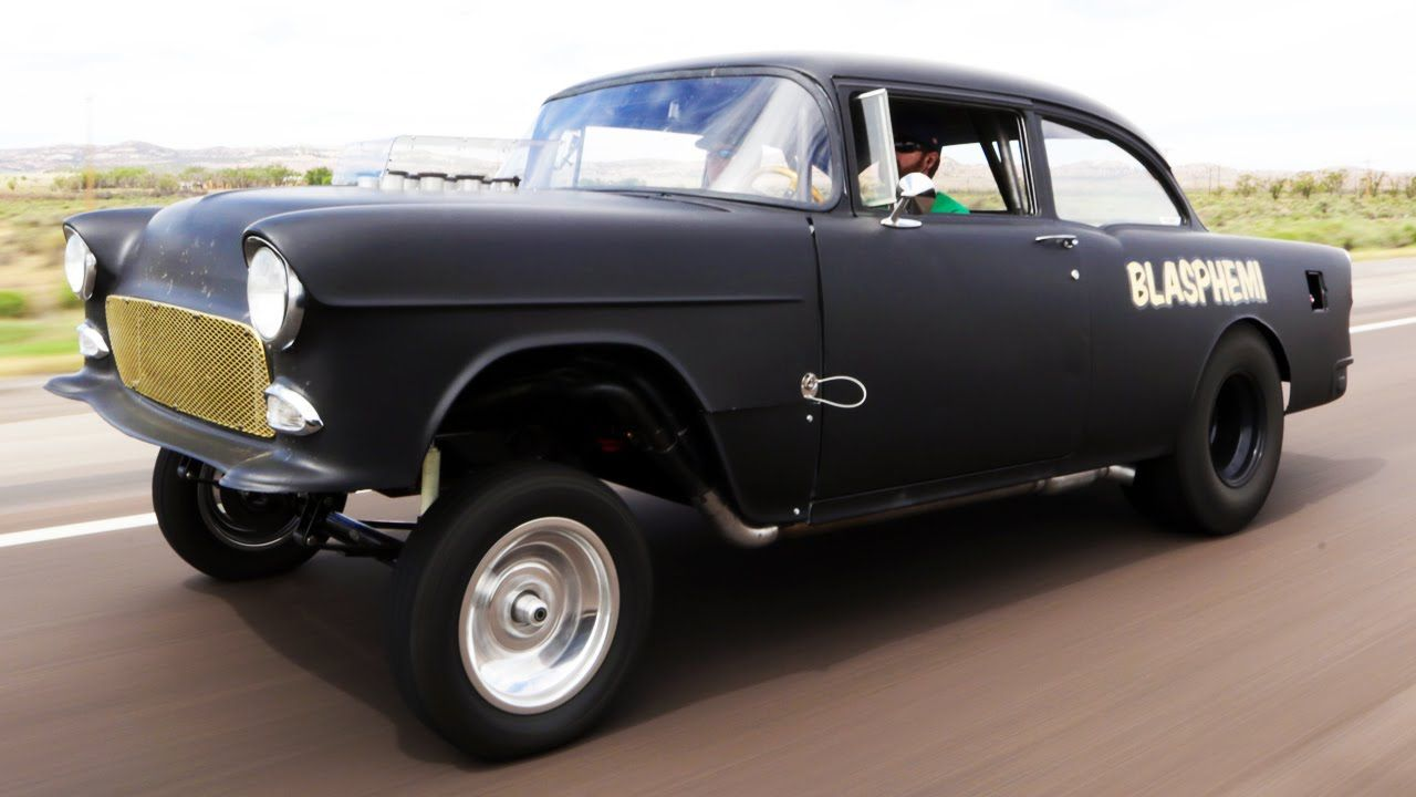 Cross Country In A Gasser 1955 Chevy With A Hemi Roadkill Ep 30 1955 Chevy Roadkill Chevy