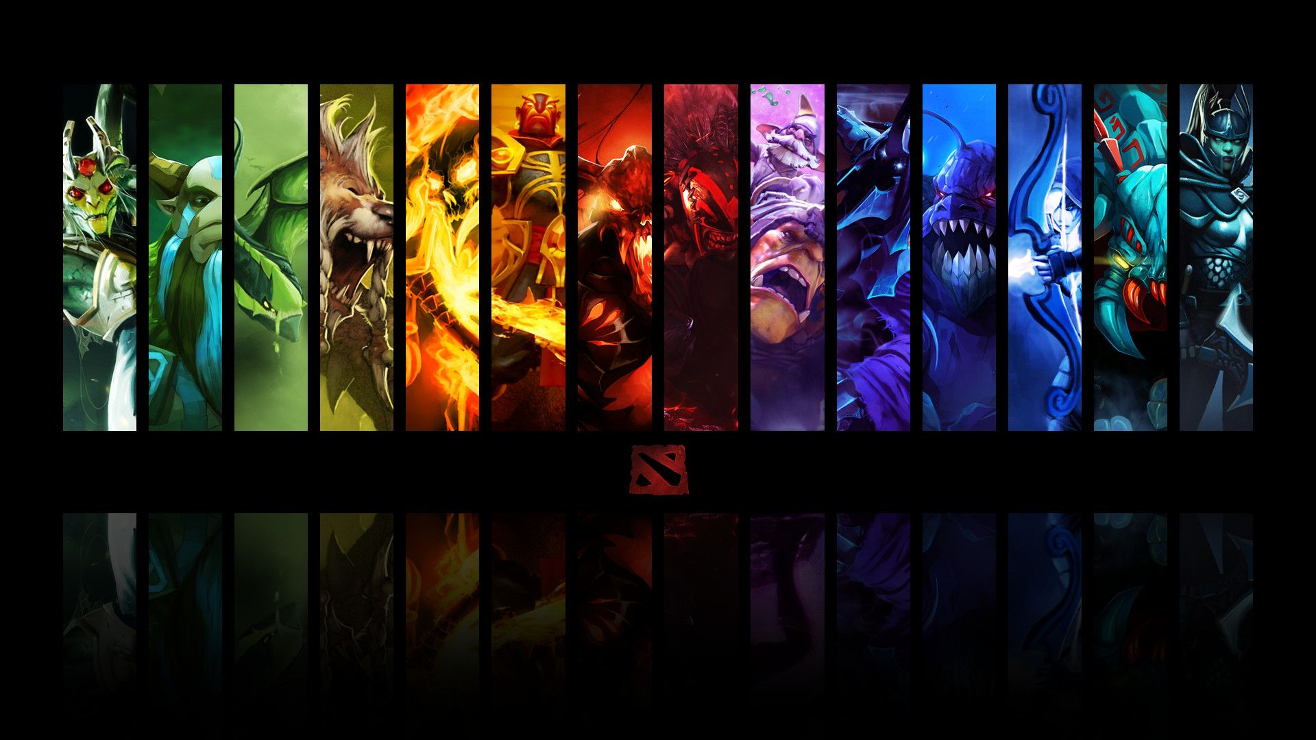 Vertical Dota 2 Hd Wallpaper 1920x1080 1920x1080 For Windows