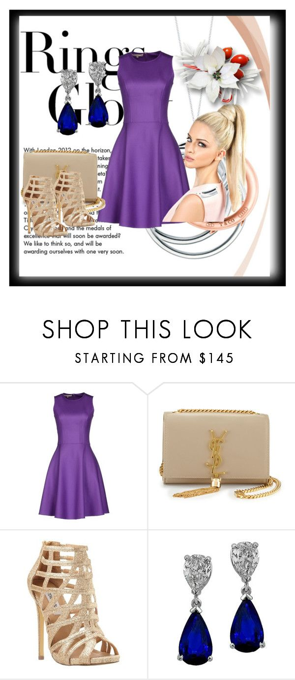"""Bez naslova #842"" by dinka1-749 ❤ liked on Polyvore featuring Tiffany & Co., Michael Kors, Yves Saint Laurent and Steve Madden"