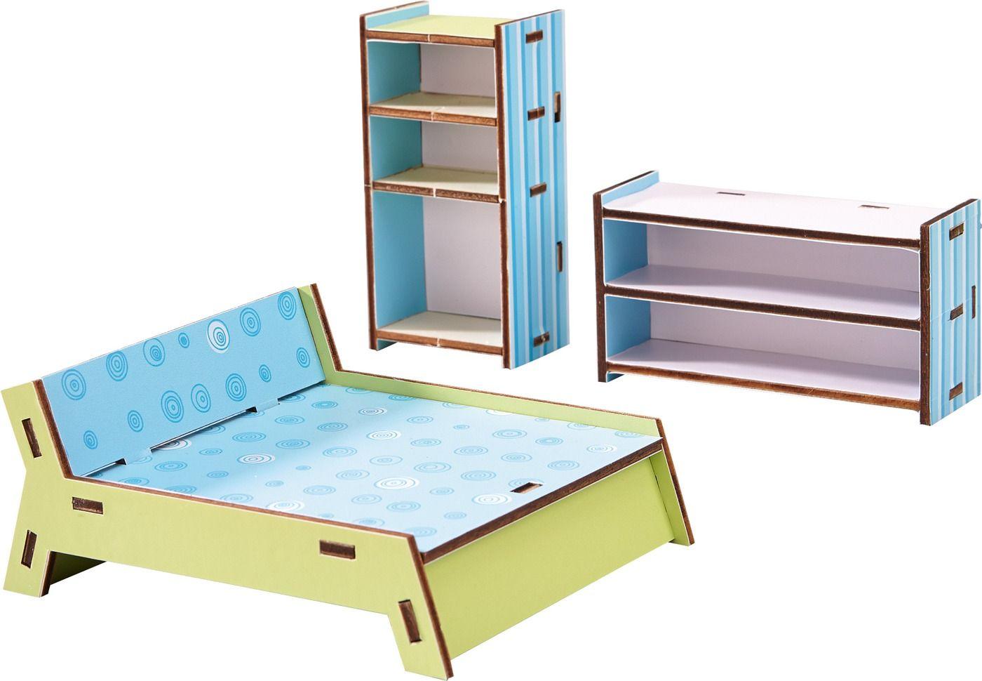 little friends puppenhaus m bel schlafzimmer haba 300506 wunschzettel weihnachten 15. Black Bedroom Furniture Sets. Home Design Ideas