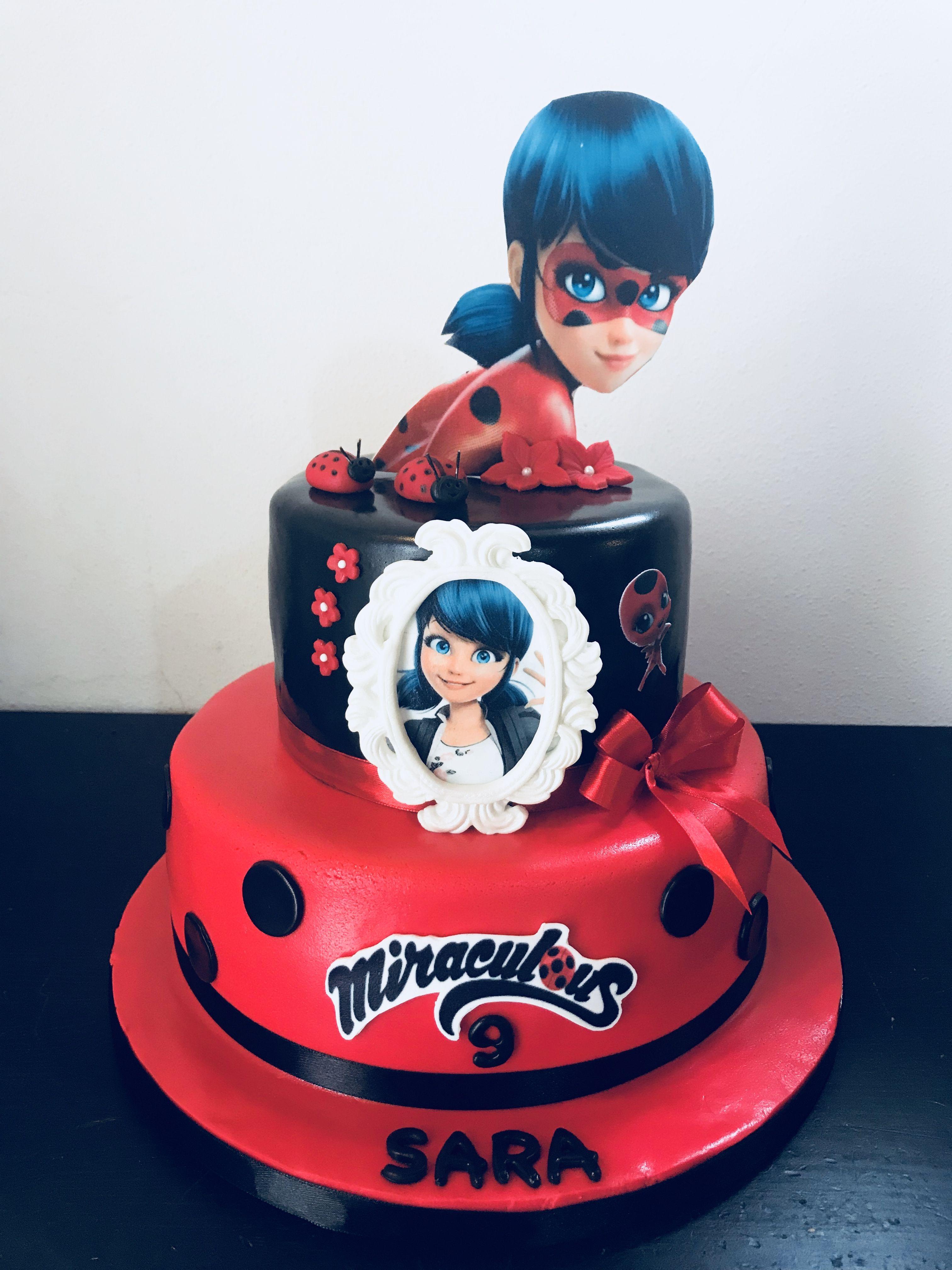 Ladybug Miraculous Cake By Na Furtado Cake Designer