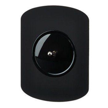 Interrupteur Va Et Vient à Levier Allumés Noir Modul Design