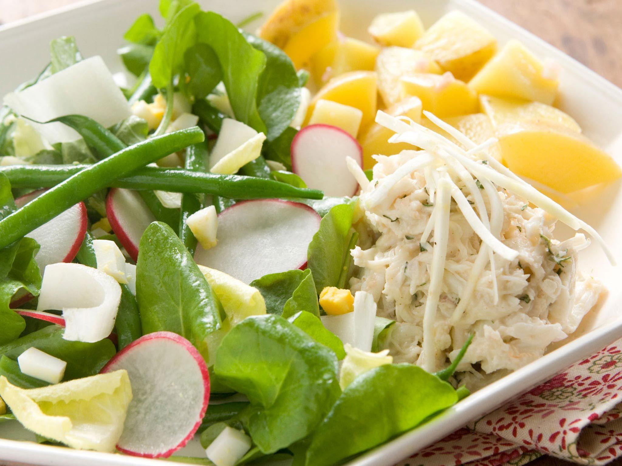 Recipe crab salad with lemon dressing recipe in 2020