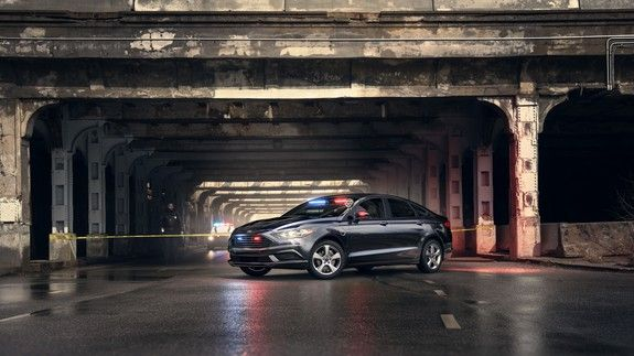 Ford S Plug In Hybrid Gives Police All Electric Power For The