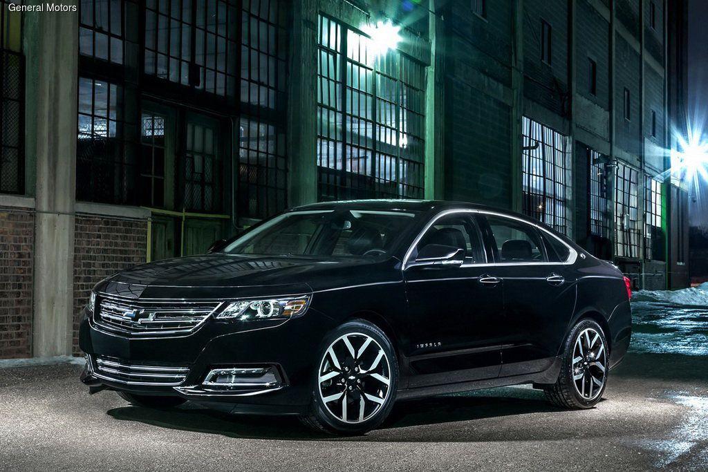 Chevrolet подготовила особую версию модели Impala, получившую название Midnight Edition.