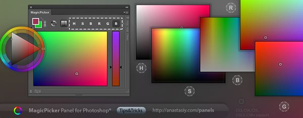 Tips Tricks Photoshop Panels Color Wheel More On Behance